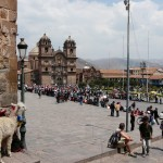 Hanging out in Cuzco