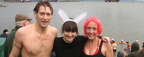 The Loony Dook; what a day at Hogmanay!