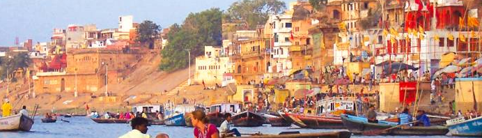 Meeting Mother Ganges for the first time
