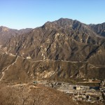 Huffing and puffing up the Great Wall of China