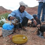 Trekking with nomadic Berbers on their High Atlas migration