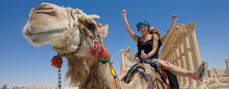 Technical and practical advice on how to ride a camel