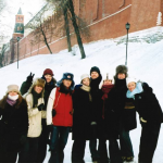 Winter festivities in Russia's Red Square