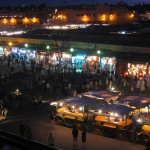 Haggling in the markets of Marrakech
