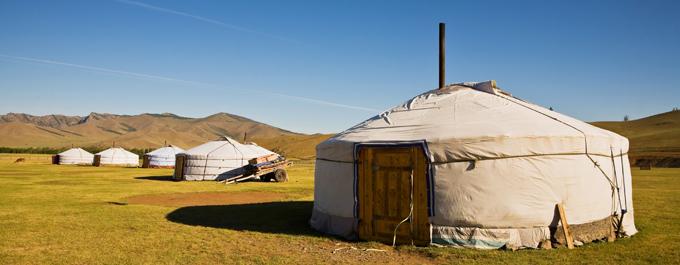 Katie & Evan in Mongolia