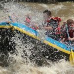 Bungee jumping & white water rafting in Africa