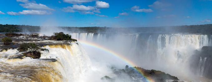 The power of Iguazu Falls