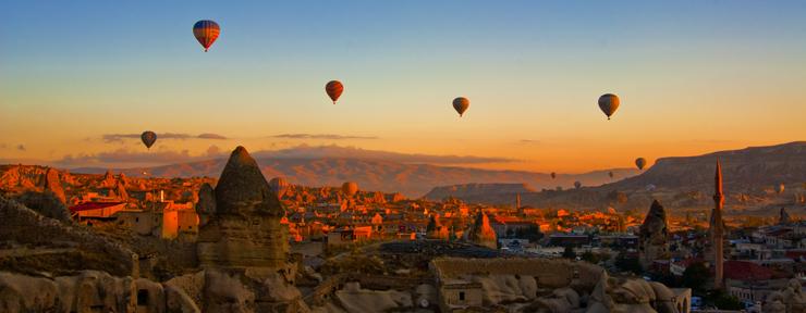 Going to Cappadocia (Turkey)