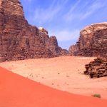 Camping overnight in Wadi Rum