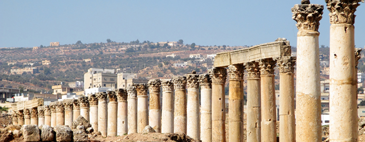 Exploring Jerash & Umm Qais