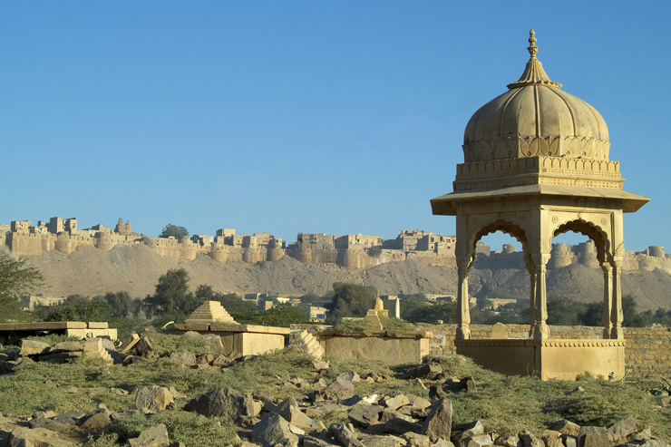 Jaisalmer Fort, a hidden gem in India