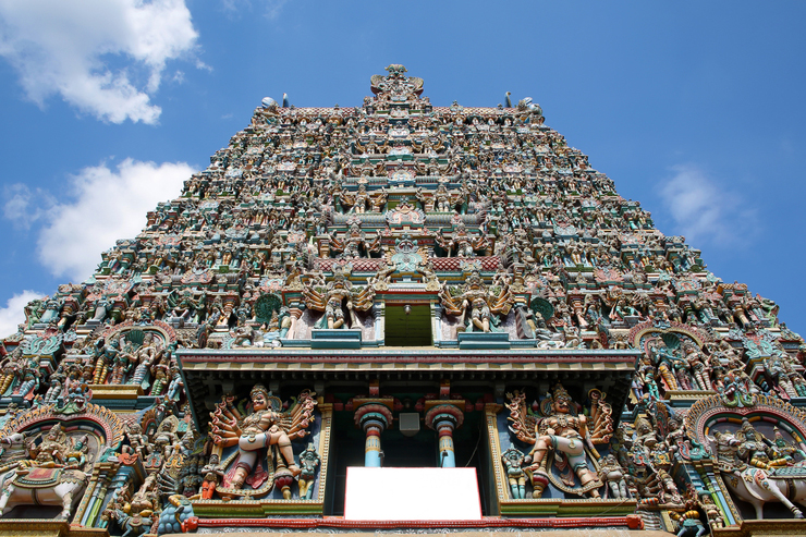 sri meenakshi temple, Madurai, one of the hidden gems of India