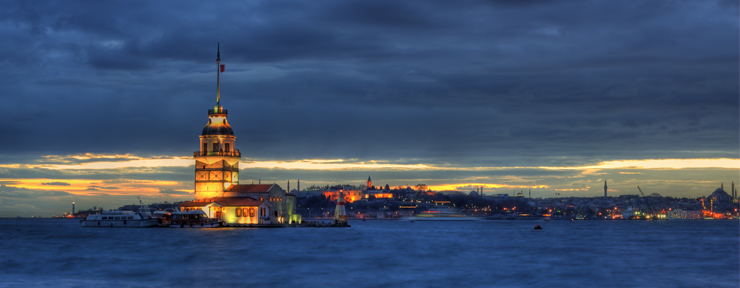 A confluence of culture – the Bosphorus Strait