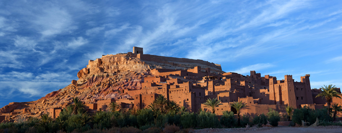 Amar Grover visits Ait Benhaddou in Morocco
