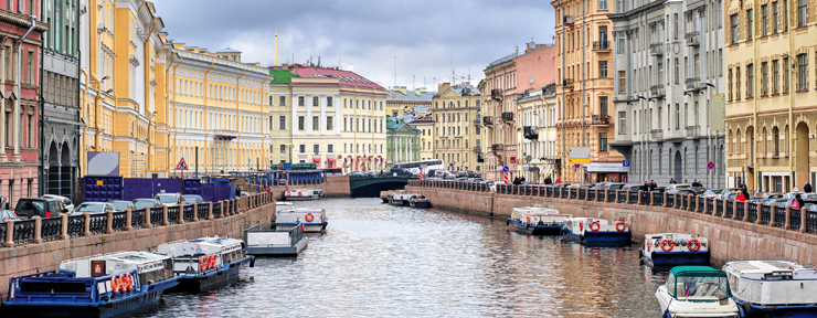 St Petersburg Time-lapse