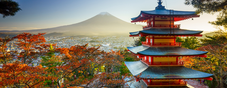 Head to Japan