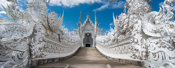 Wat Rong Khun: The White Temple of Chiang Rai