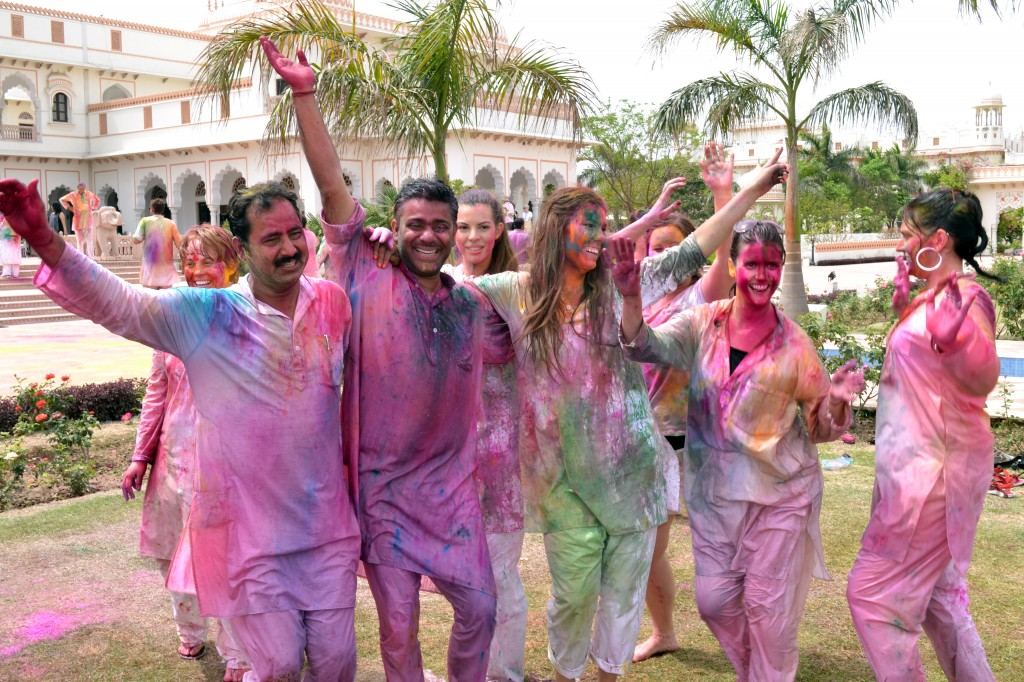 Join the festivities of Holi in India and celebrate with locals and travellers alike