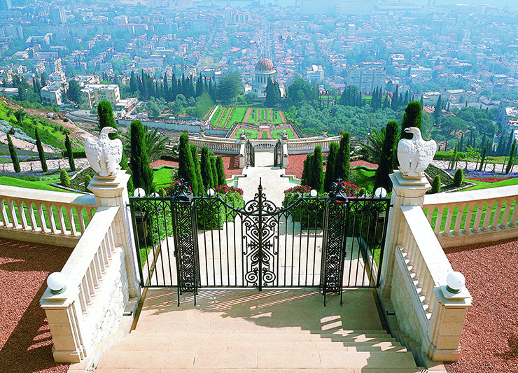 Bahai gardens - top 10 things to do in Israel