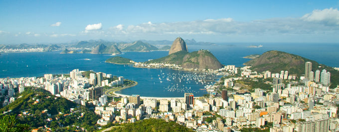 Rio de Janeiro in time lapse