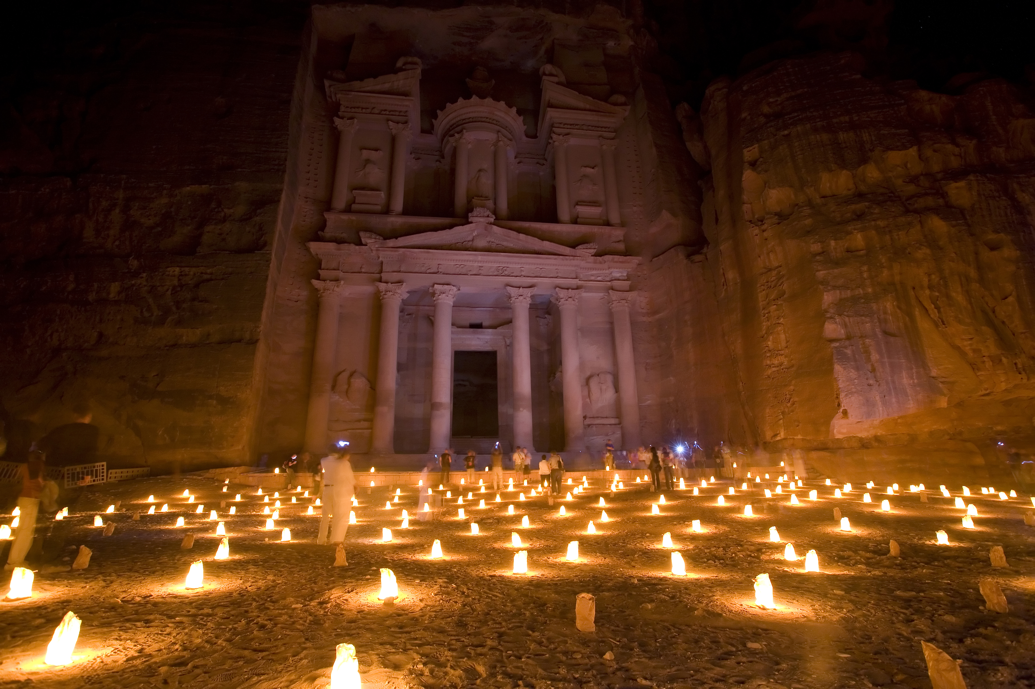 Experience the magic of Petra after dark