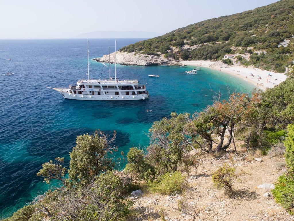 Go island hopping off Croatia's beautiful coast in July