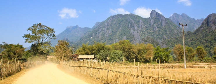 Quiet, dust & happiness in Laos
