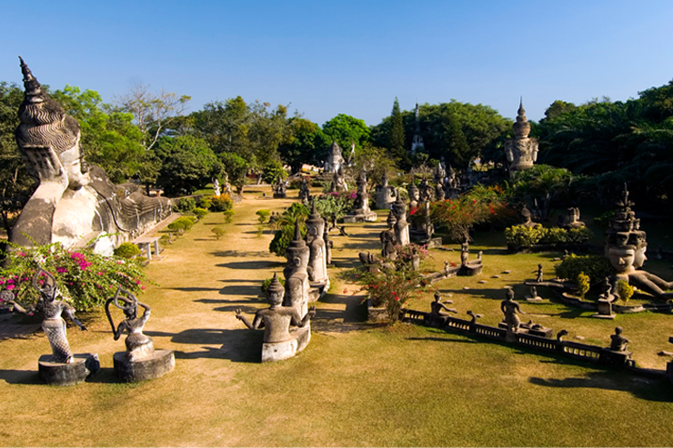 Buddha Park, one of the top things to do in Laos
