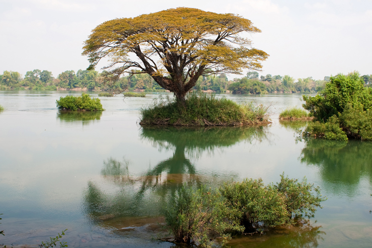 Four Thousand Islands, one of the top things to do in Laos