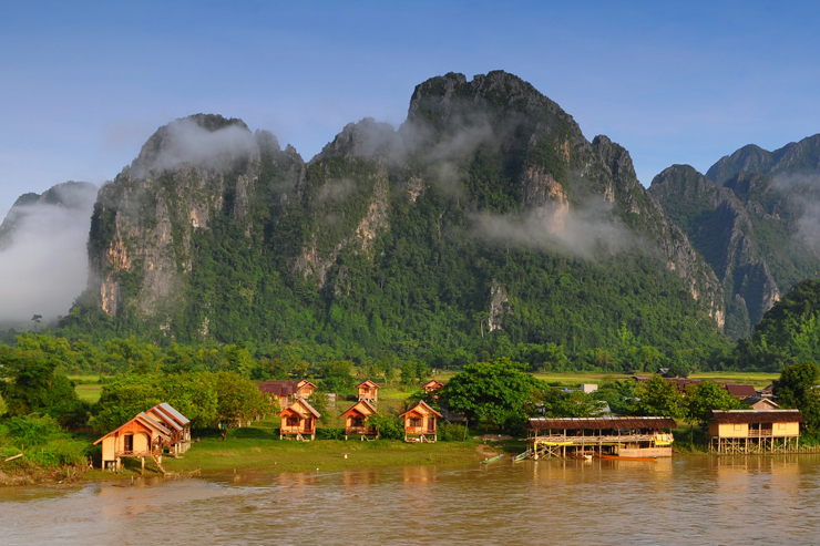 Vang Vieng, one of the top things to do in laos