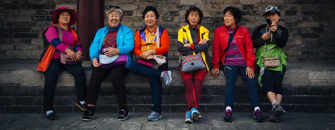 China smiles