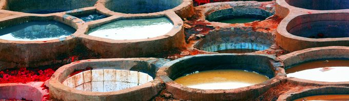 Souks, tanneries and kasbahs
