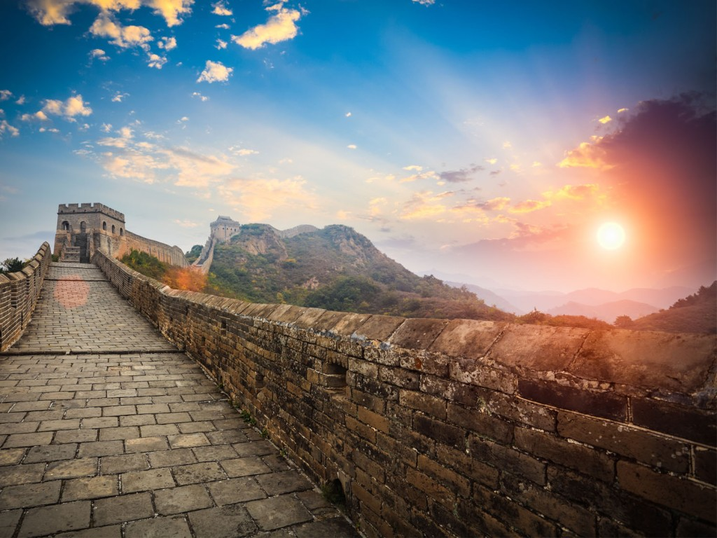 The incredible Great Wall of China