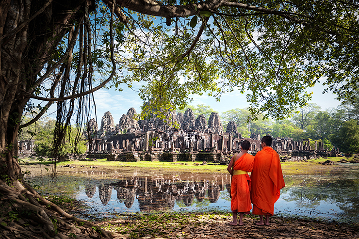 Angkor Wat, one of the best things to do in Cambodia