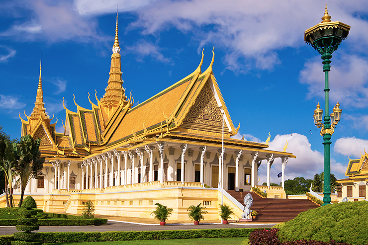 Royal Palace in Phnom Pehn, one of the best things to do in Cambodia