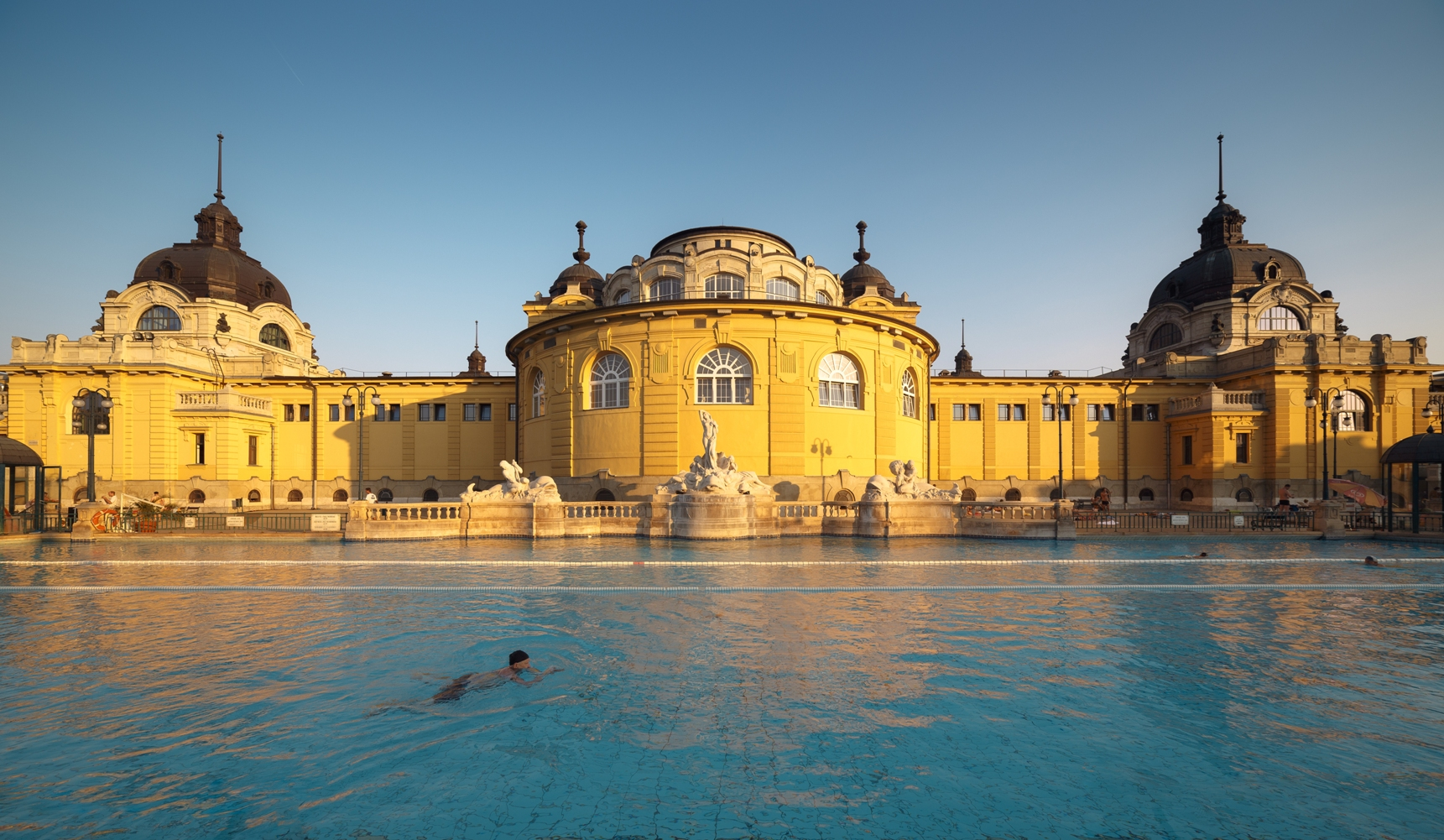 Traditional Budapest Spa