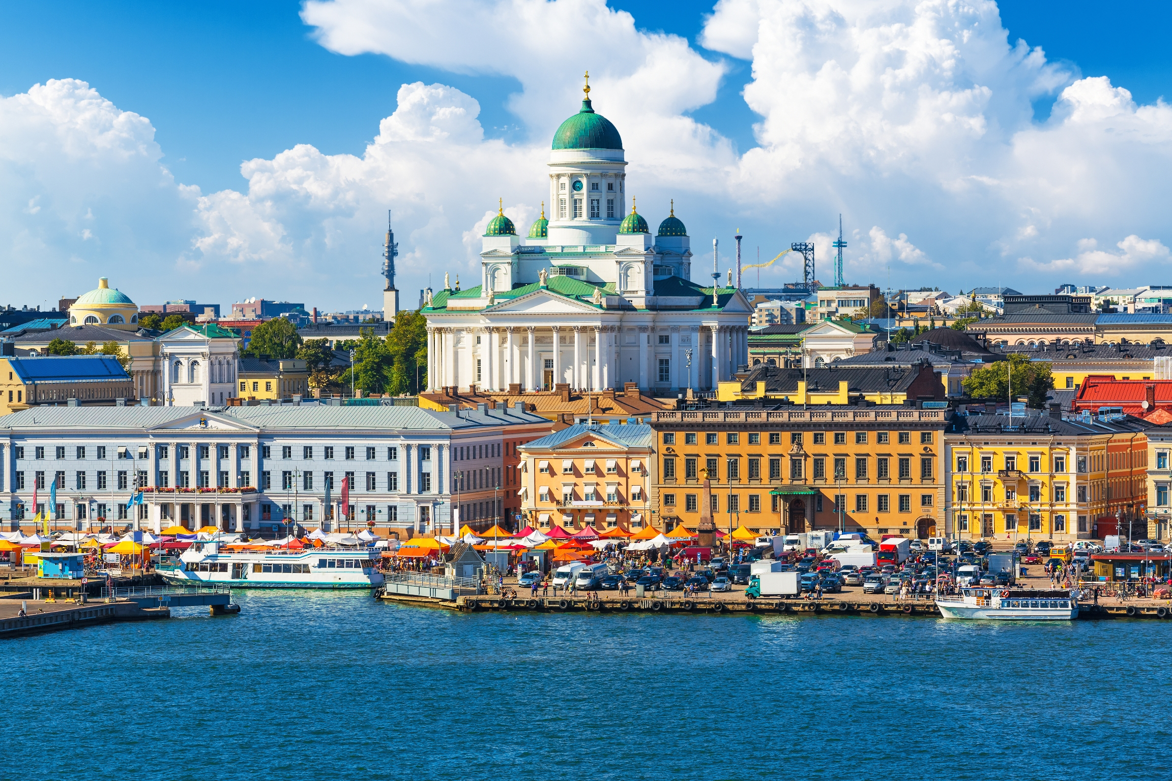 Helsinki in the summer time