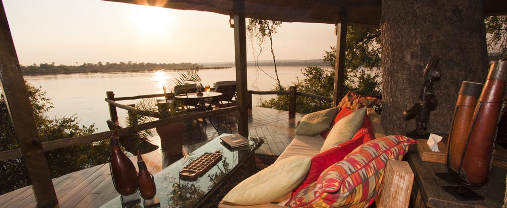 Incredible views from Sindabezi Island