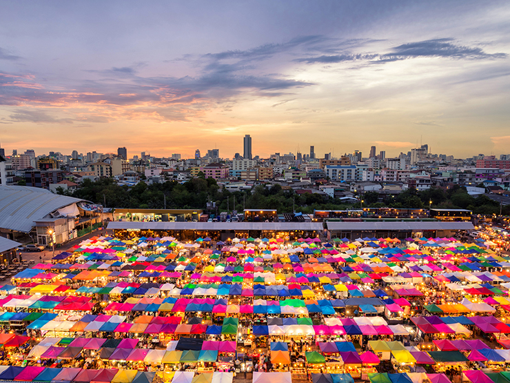 Chatuchak Market - Top marketplaces around the world