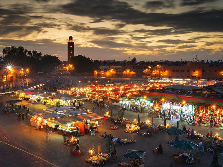 Djemma el Fna - Top marketplaces around the world