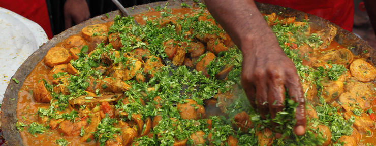 Top 5 destinations in India for foodies