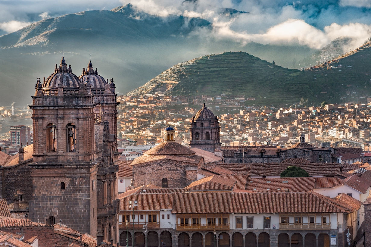Cuzco is the last stop to stock up on suppliers and acclimatise to the altitude