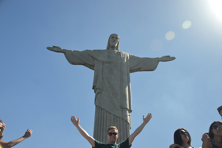 Christ the Redeemer - Coast to coast in South America