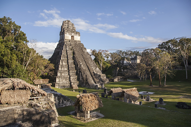 The ruins of Tikal are a highlight of Guatemala
