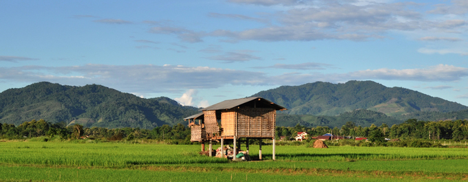 Hill tribe trekking in Laos