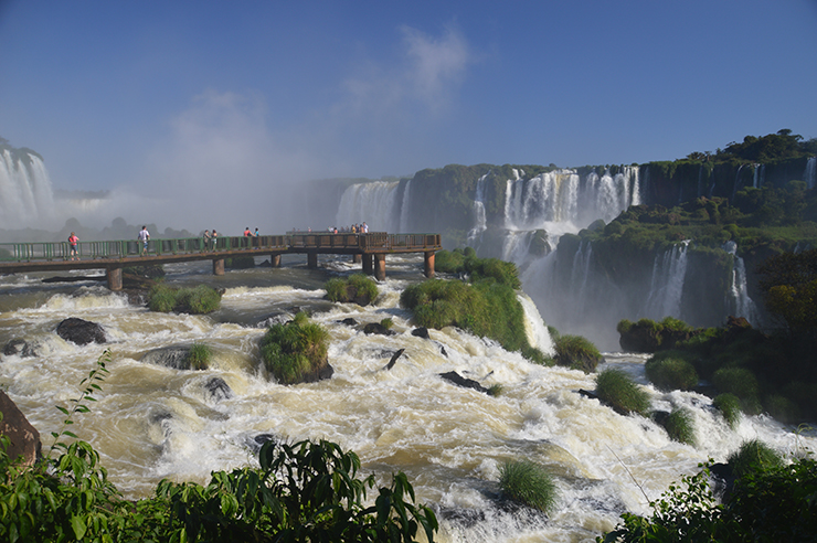 Iguazu Falls - Coast to coast in South America