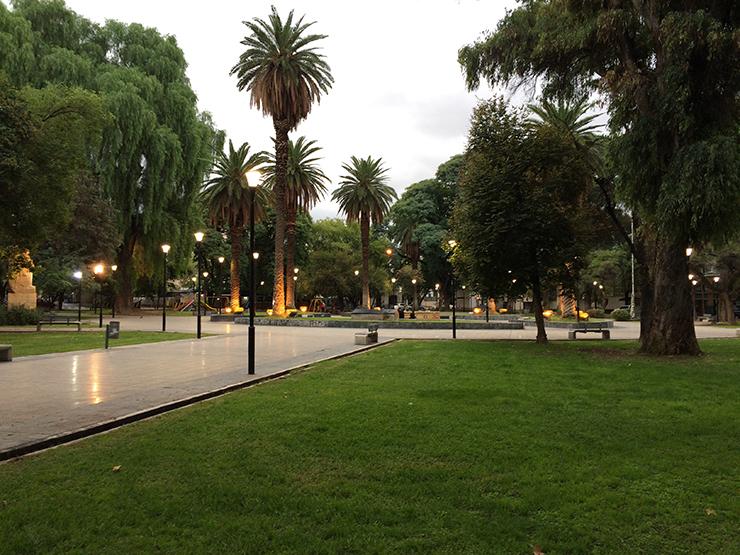 Mendoza parks - Coast to coast in South America