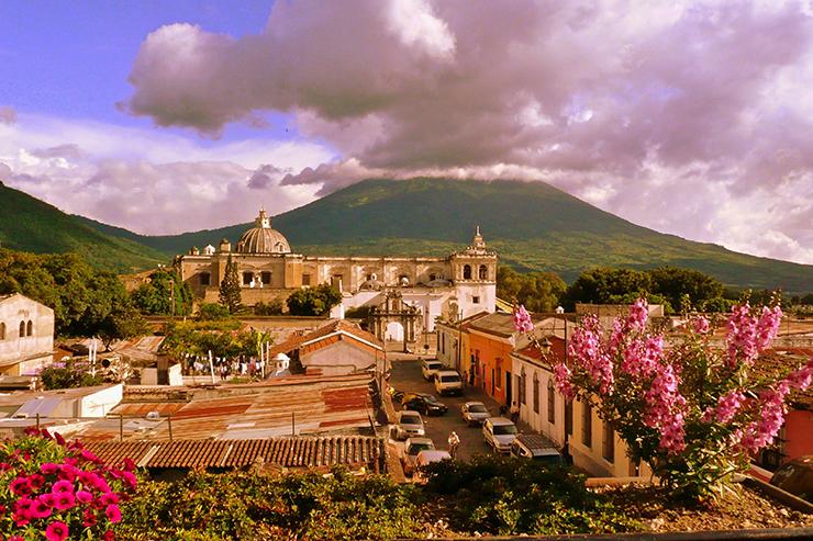 San Francisco Church in Antigua
