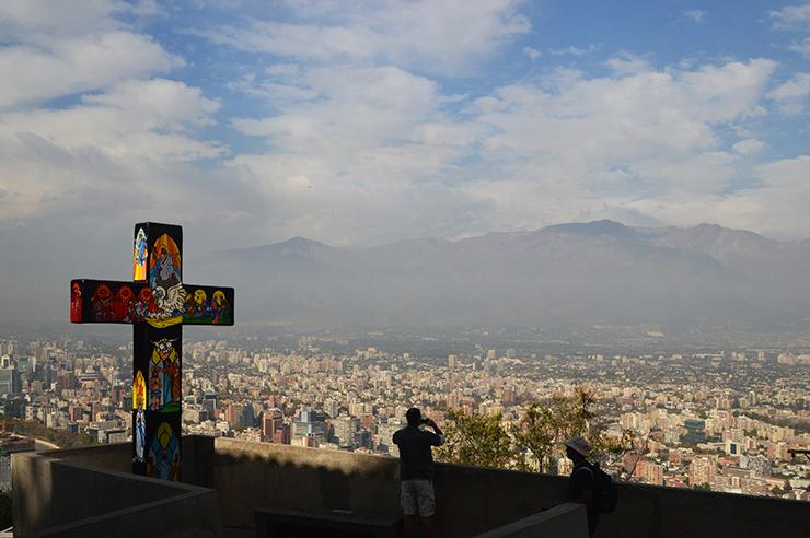 Santiago in Chile - Coast to Coast in South America