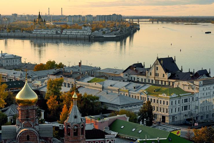 Top 10 cruise journeys - Nizhni Novgorod along the river Volga. Russia